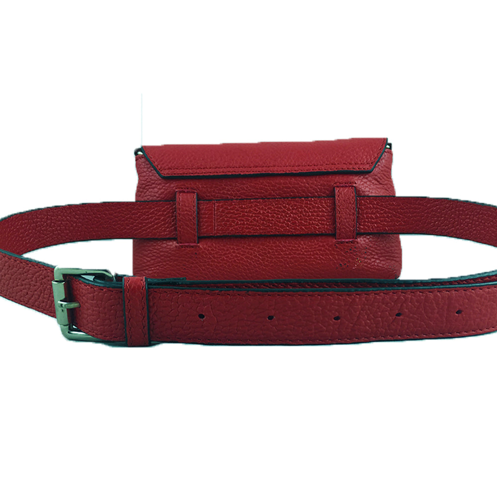 BIRDS OF A FEATHER, RED SADDLE BAG