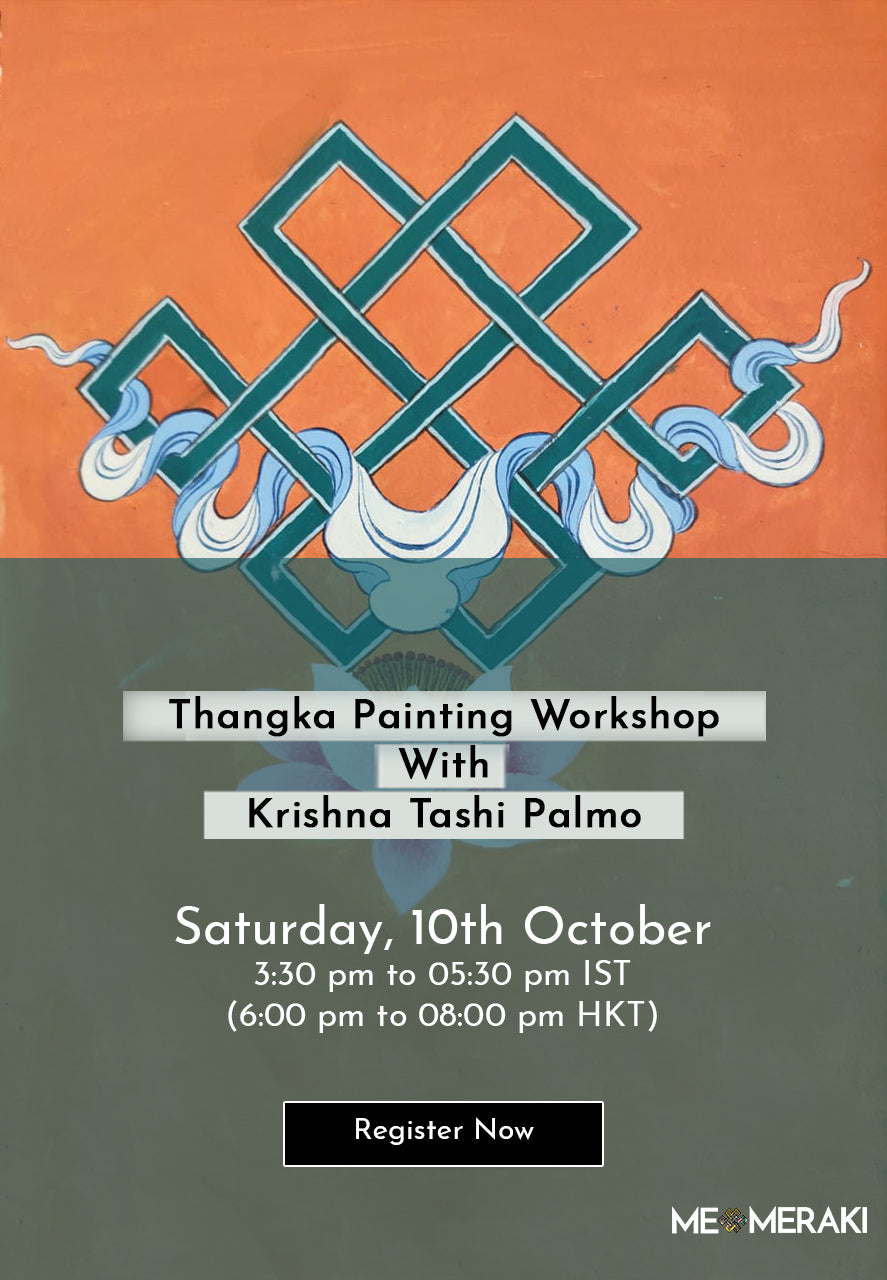 BUY RECORDING: ONLINE THANGKA PAINTING WORKSHOP WITH KRISHNA TASHI PALMO