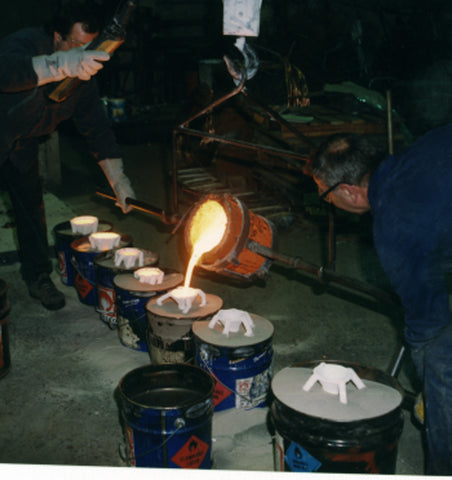 bronze art casting process