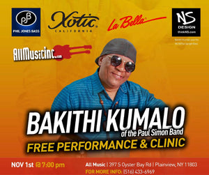 FREE Bakithi Kumalo Clinic/Performance