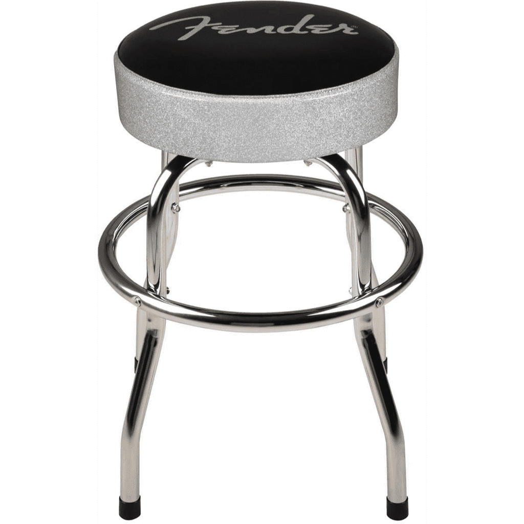 Free Fender Silver Sparkle Stool w/ Guitar Purchase Over $999