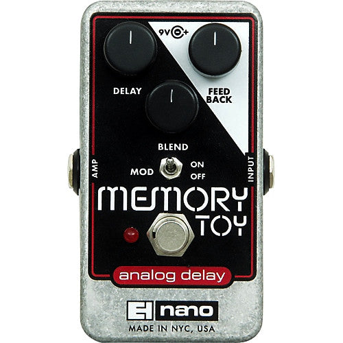 Electro Harmonix EHX Memory Toy Analog Delay Guitar Effect Effects Pedal