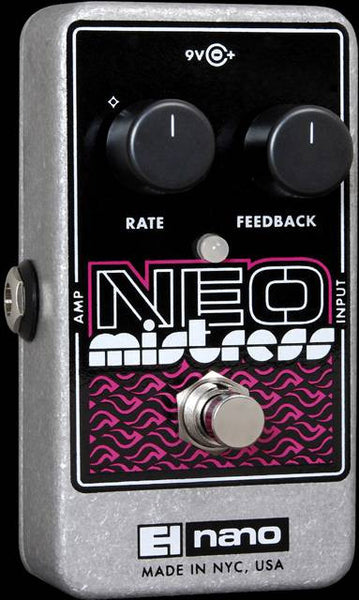 Electro-Harmonix EHX Nano Neo Mistress Flanger Electric Guitar Effects Pedal