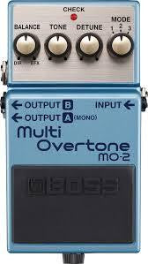 Boss MO-2 MO2 Multi-Overtone Multi Overtone Electric Guitar Effects Pedal