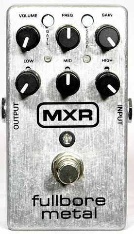 MXR Fullbore Metal Hi-Gain Overdrive Distortion Guitar Effects Pedal