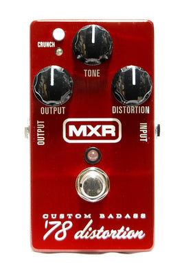 MXR M78 Custom Badass 78 Distortion Guitar Pedal