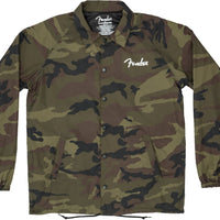 Fender Camo Coaches Jacket