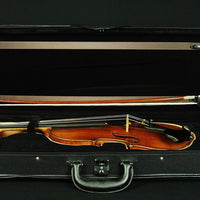 Vintage Carl Vulzar Germany 4/4 Flamed Maple Violin Outfit