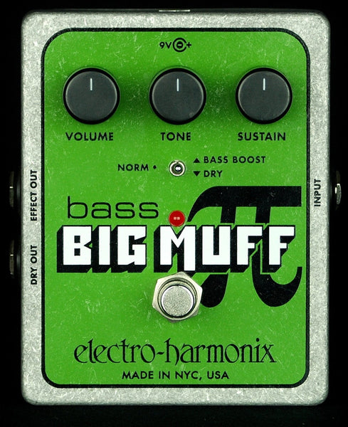 EHX Electro Harmonix XO Bass Big Muff Pi Fuzz Distortion Effects Pedal