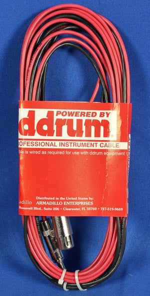 Ddrum 6997 PRO DTS DRT Snare Trigger 15' Y Cable Drum Drums Percussion