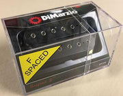 DiMarzio USA DP104FBK Super 2 F-Spaced Humbucker Electric Guitar Bridge Pickup