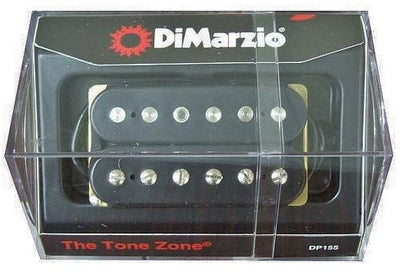 DiMarzio DP155 The Tone Zone Standard-Spaced Humbucker Pickup - Black