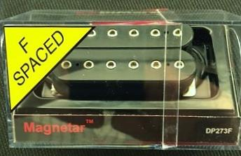 DiMarzio DP273 Satchur8 Magnetar Humbucker Guitar Bridge Pickup - Black