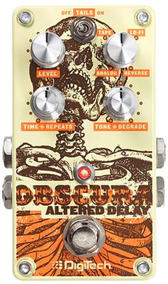 Digitech Obscura 2 Second Altered Delay Electric Guitar Effect Effects Pedal