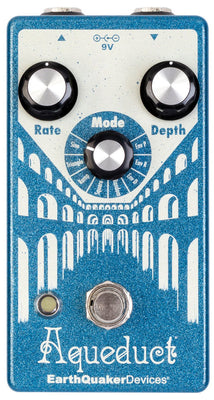 EarthQuaker Devices Aqueduct Vibrato Guitar Effects Pedal