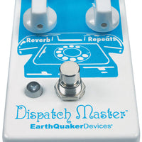 EarthQuaker Devices Dispatch Master Delay Reverb Guitar Effects Pedal V3