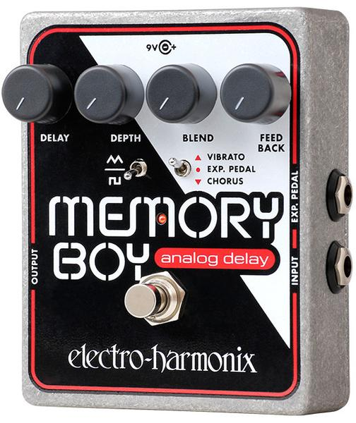 Electro-Harmonix EHX Memory Boy Analog Delay Electric Guitar Effect Pedal
