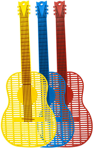 Acoustic Guitar Fly Swatter (Multiple Colors)