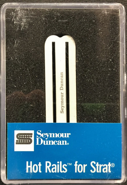 Seymour Duncan USA Hot Rails SHR-1 Electric Guitar Bridge Pickup White