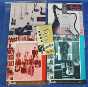 Fender Electric Guitar Amplifier Bass Vintage Catalog Catalogs