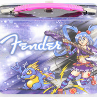 Fender Anime Rock Metal Lunchbox Lunch Box 9100293406
