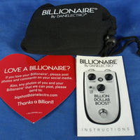 Danelectro BB1 Billionaire Billion Dollar Boost Electric Guitar Effect Pedal