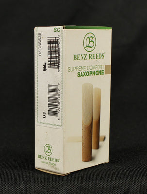 Benz Supreme Comfort BSC5SS35 Soprano Saxophone Sax Reed