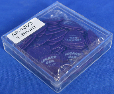 Legacy USA AP100Q 100 1.5mm Purple Guitar Picks