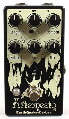 EartherQuaker Devices Afterneath Otherworldly Reverb Guitar Effect Effects Pedal V3