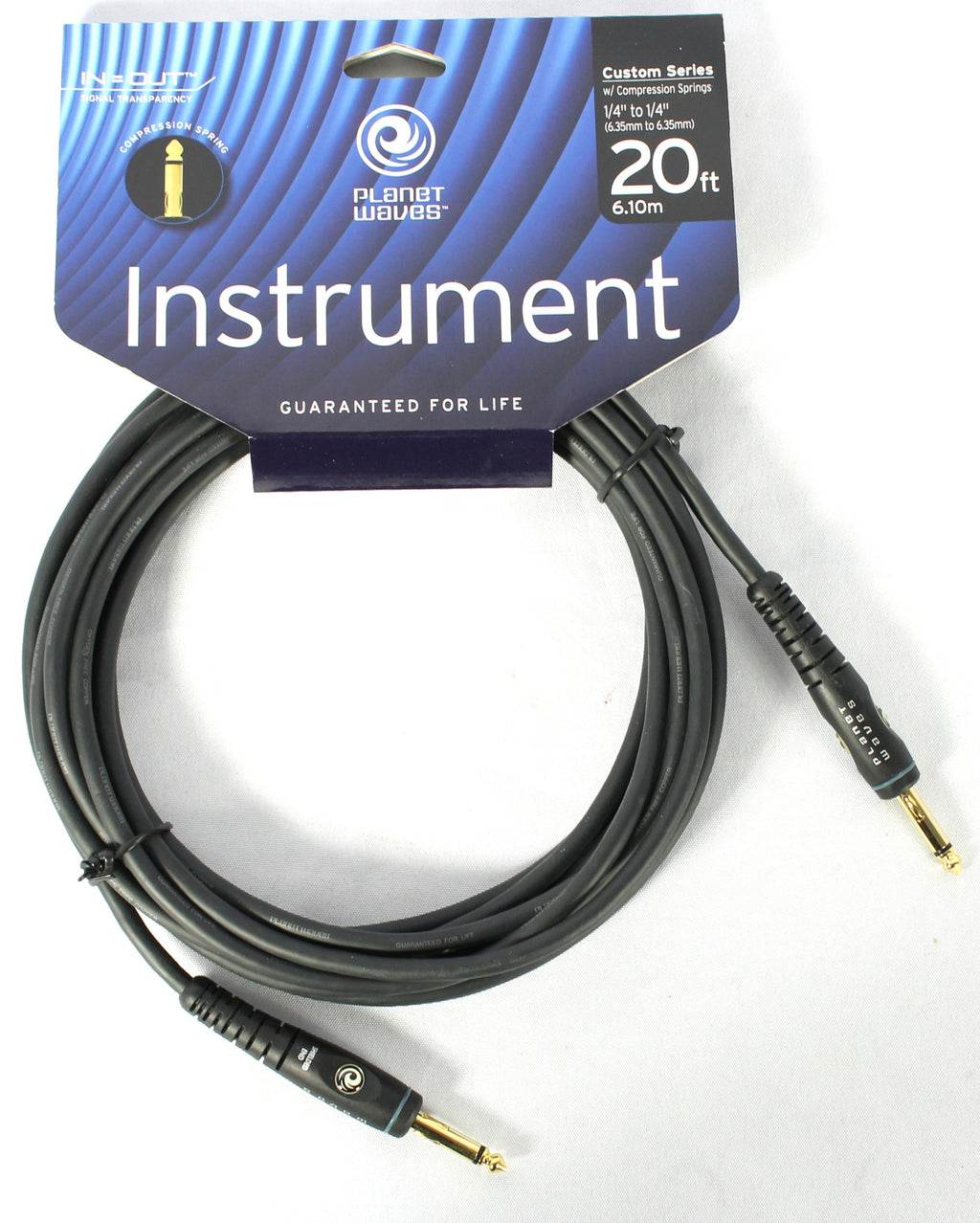 D'addario PW-GCS-20 Custom Series Instrument Cable