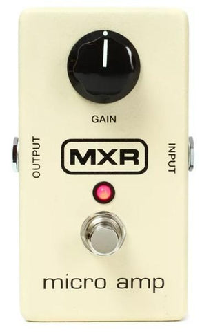 MXR M133 Micro Amp Electric Guitar Boost Overdrive Effects Pedal