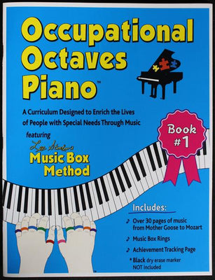 Occupational Octaves Book 1 Special Needs Piano Instruction