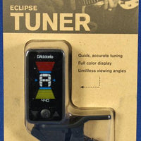 Planet Waves PW-CT-17BK Eclipse Chromatic Clip-On Guitar Tuner Black
