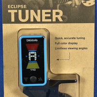 Planet Waves PW-CT-17BU Eclipse Chromatic Clip-On Guitar Tuner Blue
