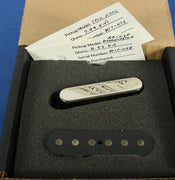 Tone Master USA Hand-Wound Broadcaster Tele Electric Guitar Pickup Set Alnico 3