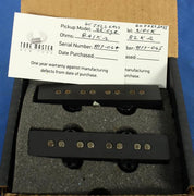Tone Master USA Hand-Wound 60 Jazz Electric Bass Guitar Pickup Set