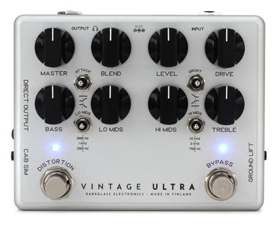 Darkglass Electronics Vintage Ultra v2 Bass Guitar Preamp Pedal