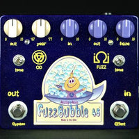 Analog Alien FuzzBubble-45 Overdrive & Fuzz Electric Guitar Effect Pedal
