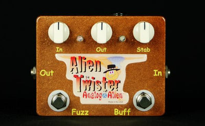 Analog Alien Alien Twister Fuzz / Buffer Electric Guitar Effect Pedal