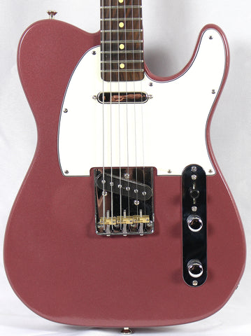 Aniktos Custom Guitars Tele Burgundy Mist Electric Guitar