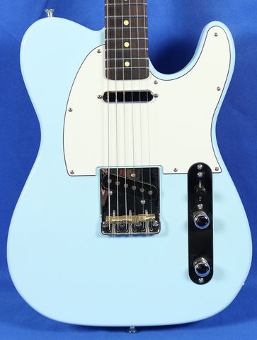 Aniktos Custom Guitars Tele Sonic Blue Electric Guitar