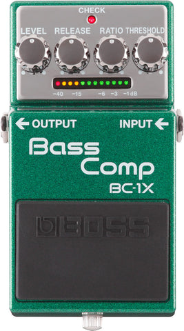 Boss BC-1X Electric Bass Guitar Compressor Effect Effects Pedal