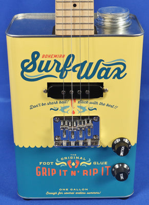 Bohemian Guitars BG-15-SW-U Boho Surf Wax Electric Ukulele Uke