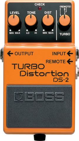 Boss DS-2 Turbo Distortion Electric Guitar Overdrive Effect Effects Pedal