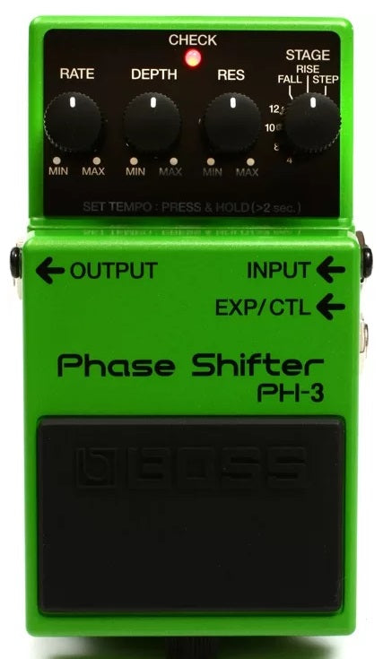 Boss PH-3 Phase Shifter Electric Guitar and Bass Effects Pedal