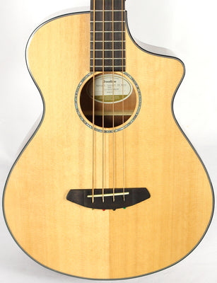 Breedlove Pursuit Concert CE Natural Acoustic Electric Bass Guitar