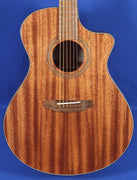 Breedlove Wildwood Concerto Satin CE Acoustic Electric Guitar