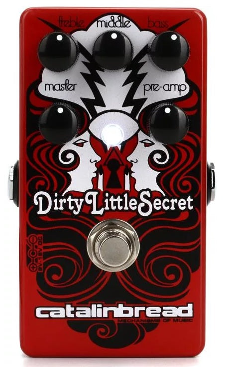 Catalinbread Dirty Little Secret Overdrive Electric Guitar Effect Effects Pedal