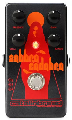 Catalinbread Sabbra Cadabra Boost Overdrive Electric Guitar Effect Effects Pedal