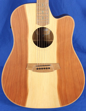 Cole Clark FL2EC-RDBL Redwood & Blackwood Solid Wood Acoustic Electric Guitar
